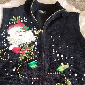 Christmas vest size large